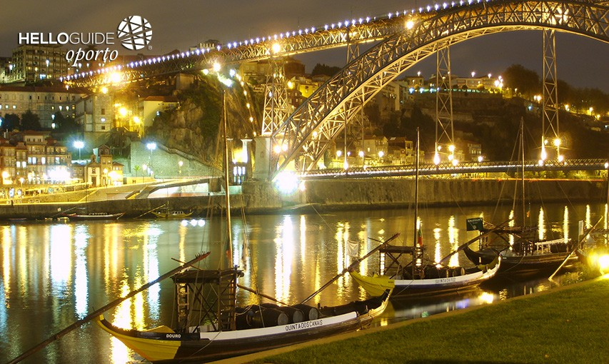 D. Luís I Bridge by night