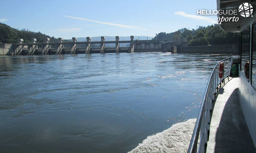 Dam on the river Douro