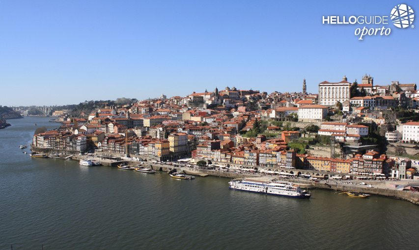 Beautiful view of the city of Porto