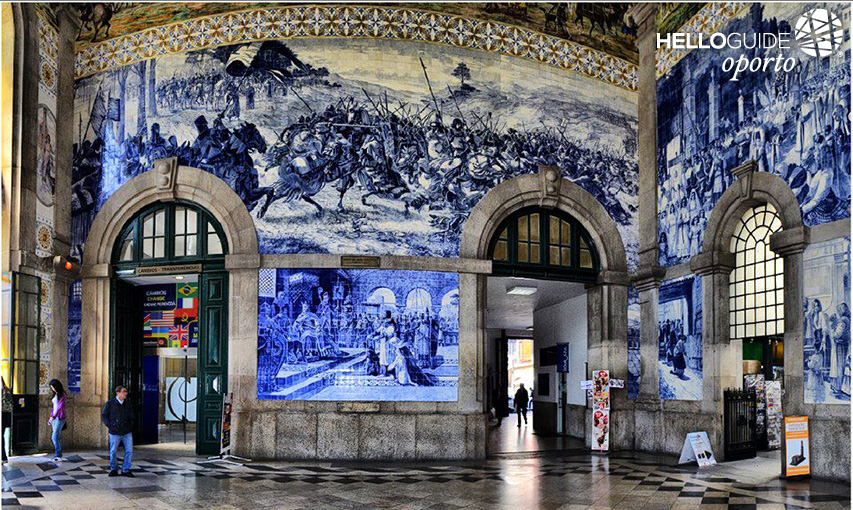 Tile Panels in São Bento train station
