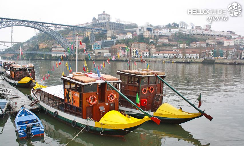 Barcos rabelo 2015 12 23 la foto for Oficina turismo oporto